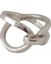 Hermès - Silver Ring - Lyst
