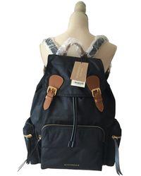 Burberry Cloth Bag - Black