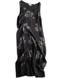 Dries Van Noten Silk Mid-length Dress - Black