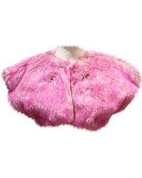 85ee0b03cc68 Lyst - Women's Miu Miu Fur jackets On Sale
