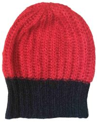 Étoile Isabel Marant Wool Beanie - Red