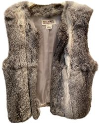 Michael Kors Rabbit Jacket - Grey