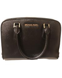 Michael Kors Leather Bag - Black