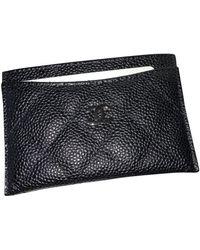 Chanel Marroquinería en cuero negro Timeless/Classique