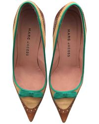 Marc Jacobs Leather Heels - Multicolour