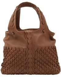 Bottega Veneta - Brown Leather - Lyst