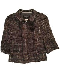 Chanel Giacca in tweed multicolore