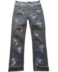 Chanel Navy Denim - Jeans Jeans - Multicolour