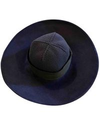 Marc Jacobs Wool Panama - Blue