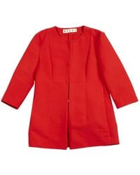 Marni - Red Cotton - Lyst