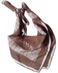 Lanvin - Silk - Lyst