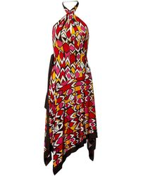 Diane von Furstenberg - Multicolour Silk Dress - Lyst