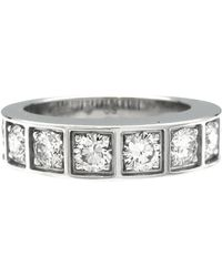 Cartier - Pre-owned Vintage Other White Gold Rings - Lyst