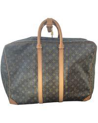 Louis Vuitton Leinen Wochenende Tasche - Mehrfarbig