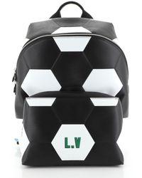 Louis Vuitton Apollo Backpack Leder Taschen - Weiß
