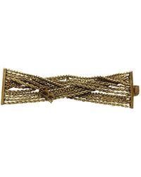 Balmain Gold Steel Bracelet - Multicolor