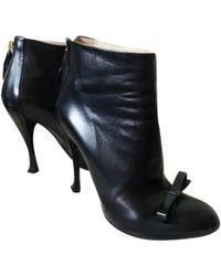 Nina Ricci Black Leather