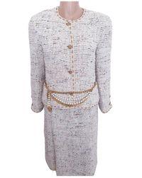 Chanel Tailleur Tweed - Multicolore