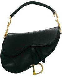 Dior Saddle Leder Handtaschen - Schwarz