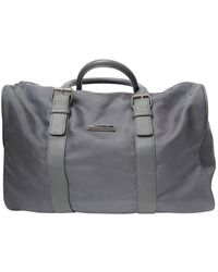 Michael Kors Gray Cloth Travel Bag