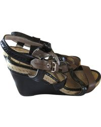 Marc By Marc Jacobs - Pre-owned Multicolour Leather Sandals - Lyst