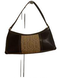 Carolina Herrera Leather Mini Bag - Brown