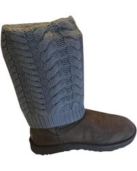 UGG Leather Boots - Natural