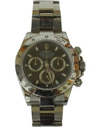 Rolex Pre-owned Daytona Silver Steel Watches - Metallic