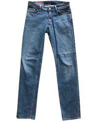 Acne Studios Slim jeans - Blau