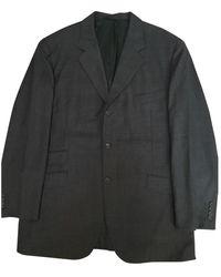 Hermès \n Grey Wool Suits - Gray