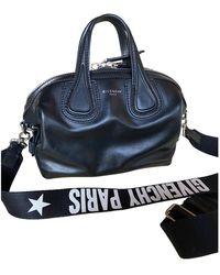 Givenchy Nightingale Leder Handtaschen - Schwarz