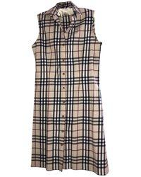 Burberry Mid-length Dress - Multicolor