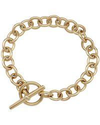 Hermès Gelbgold Armbänder - Mettallic