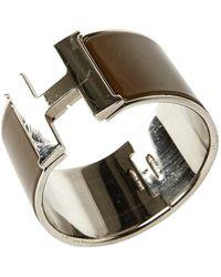 Hermès Bracelet Email Armbänder - Braun