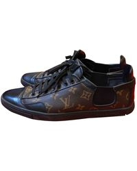 Louis Vuitton Match Up Cloth Low Sneakers - Brown
