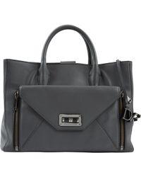 Diane von Furstenberg - Pre-owned Anthracite Leather Handbags - Lyst