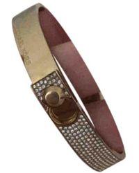 Michael Kors Gold Metal Bracelet - Metallic