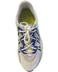 adidas Ozweego Leinen Sneakers - Weiß