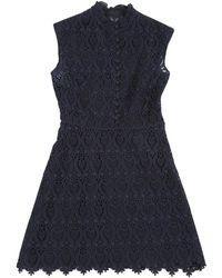 Valentino - Navy Dress - Lyst