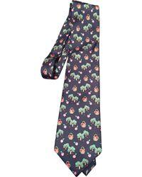 Burberry Wolle Krawatten - Mehrfarbig