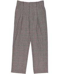 Isabel Marant - Black Polyester Trousers - Lyst