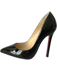 Christian Louboutin Escarpins En Daim So Kate 120 - Noir