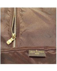 Louis Vuitton Sac de voyage en Toile Marron