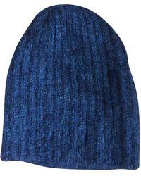 Marni Cashmere Beanie - Blue