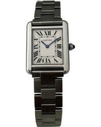 Cartier - Pre-owned Tank Petit Modèle Watch - Lyst