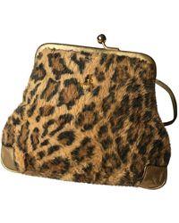 Vivienne Westwood Faux Fur Handbag - Multicolour