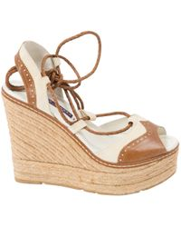 Ralph Lauren Collection - Leather Sandals - Lyst