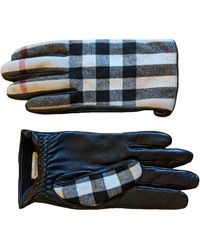 Burberry Wool Gloves - Natural