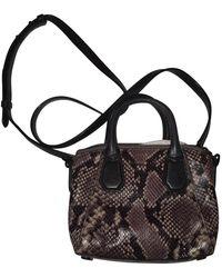 Michael Kors Riley Leather Crossbody Bag - Black
