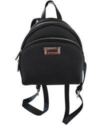 Lancel Lola Leather Backpack - Black